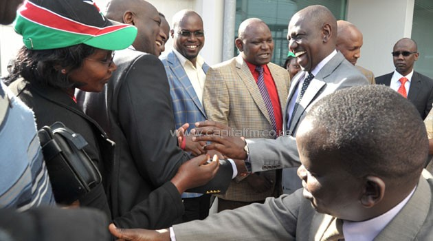 Witness P0356 told the International Criminal Court on Tuesday that he only heard Ruto call for Kibor's release from the CID headquarters in Nakuru, where he had been held for five days without being taken to court/FILE