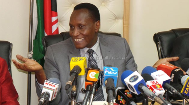 Speaking at a media conference on Thursday, the CS said he does not harbour any guilt over the tender and would only agree to be removed from office through a parliamentary process, in accordance with the Constitution/MIKE KARIUKI