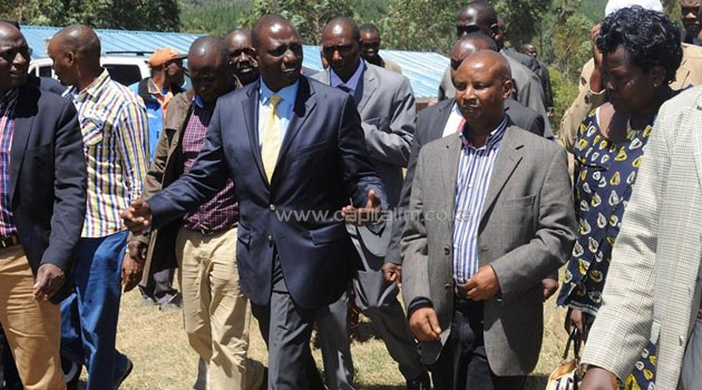 Speaking in Nakuru County on Sunday, Ruto said there is no need for any of the institutions to threaten the other, since their mandate is to serve Kenyans/DPPS