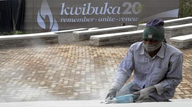 Rwanda genocide monument/FILE