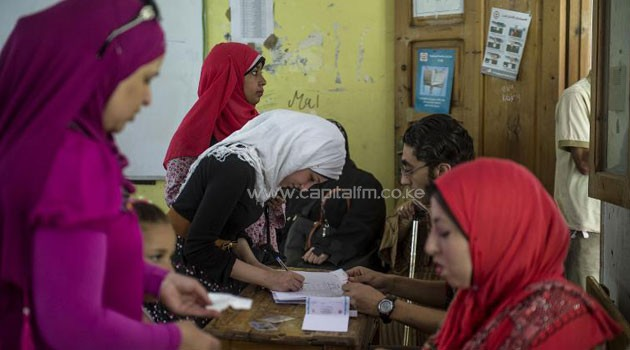 After reports of a meagre numbers at the polling stations on Monday, Sisi's backers and sympathetic media harangued people to go and vote as Islamists had urged a boycott/AFP