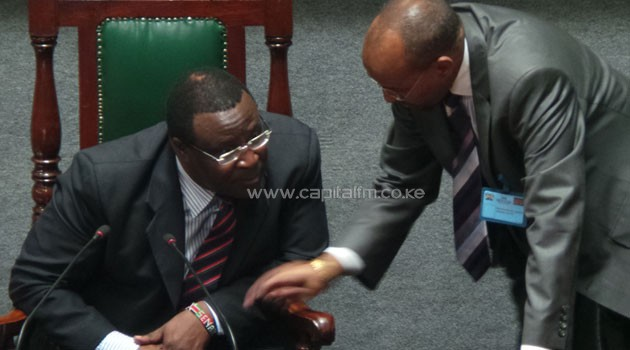 Senate Speaker Ekwe Ethuro convened the House after he received documents from the Kericho County Assembly on Chepkwony's impeachment.