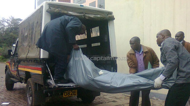 The five were part of an eight-man gang that raided Top Plaza on Kindaruma Road, according to witnesses/JOSEPH MURAYA