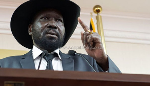 South Sudan President Salva Kiir/AFP