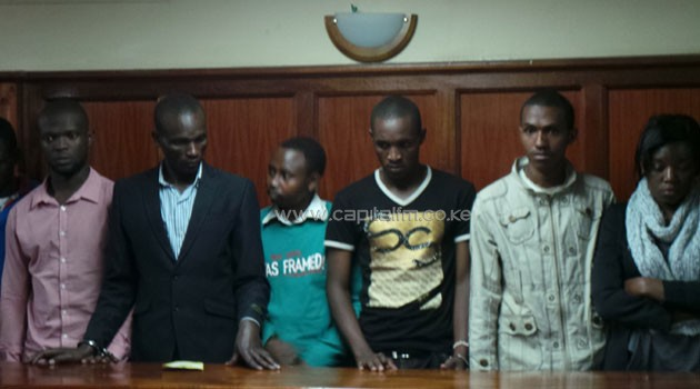 The students pleaded not guilty to the charges when they appeared before Senior Resident Magistrate Peter Ndwiga/SIMON NDONGA