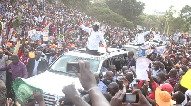 The controversial rally which was initially opposed by the county government will take place at the 64 Stadium/FILE