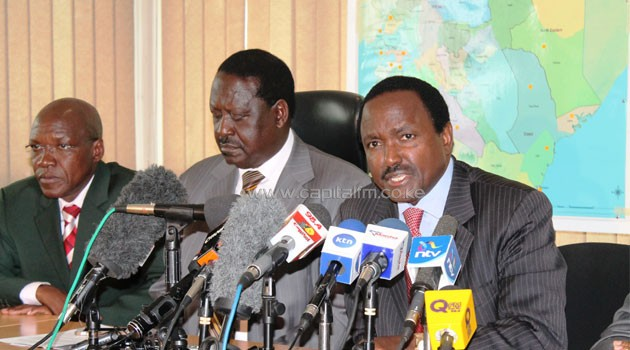 CORD called for a referendum during the Saba Saba rally at Uhuru Park on 13 key issues/FILE