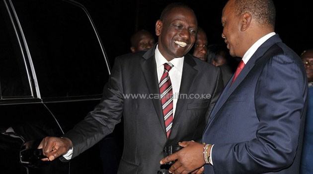 President Kenyatta was in Washington for the US-Africa summit that was hosted by US President Barrack Obama/PSCU
