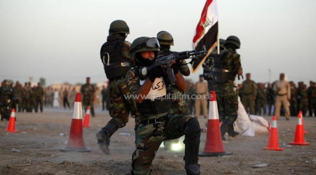 The United States has already spent billions of dollars training and equipping Iraqi security forces/AFP