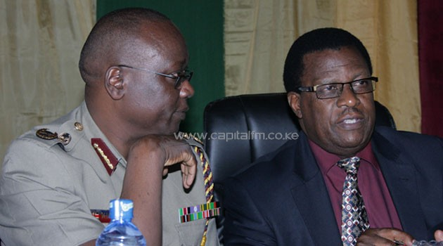 Inspector General Kimaiyo was hired by the NPSC chaired by Johnstone Kavuludi. Photo/file