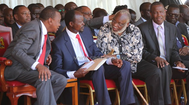 Obado who is perceived to enjoy support from the ruling Jubilee Coalition has recently expressed opposition to the push for a referendum led by the CORD leader/FILE