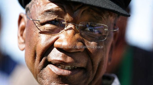 This photo taken on February 17, 2007 in Maseru, shows Lesotho's Prime Minister Tom Thabane/AFP