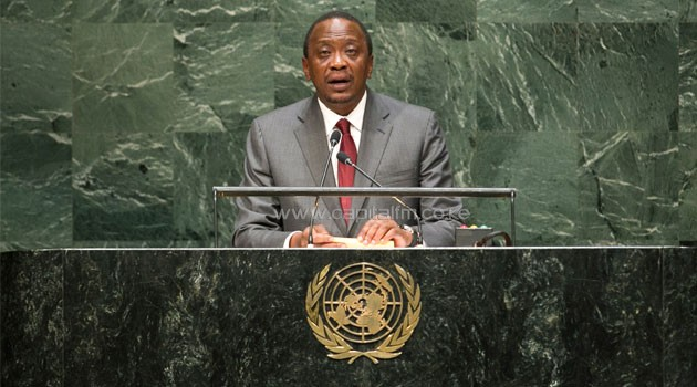 President Uhuru Kenya addresses UN General Assembly/PSCU