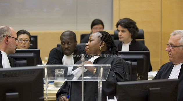ICC judges are due to rule on whether to grant prosecutor Fatou Bensouda more time to carry out her investigations and suspend the trial date, or if the case should be thrown out altogether after a status conference held last month. CFM/File.