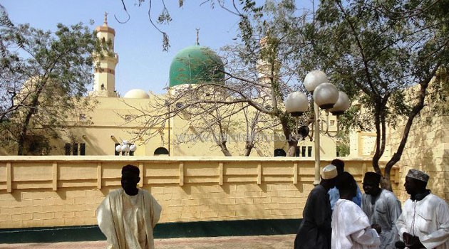 Kano's central mosque, where a bomb attack killed at least 64 people/AFP