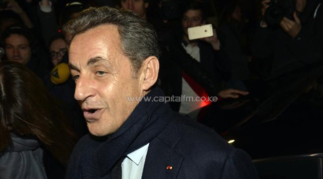 Former French President Nicolas Sarkozy, elected at the helm of the right-wing main opposition party UMP/AFP