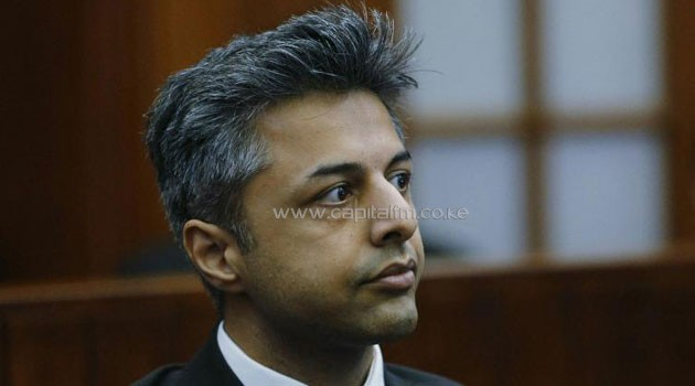 File photo shows British businessman Shrien Dewani in the Cape Town High Court on October 6, 2014/AFP