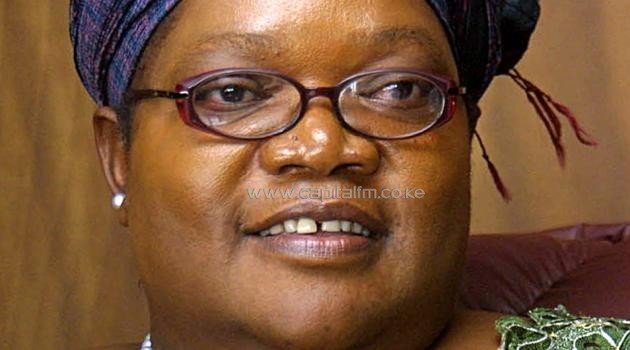 Zimbabwe's vice President Joice Mujuru answers questions during an interview on January 19, 2006 in Harare/AFP