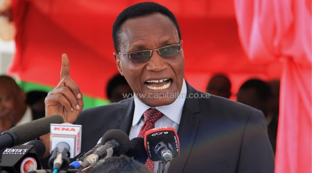 Education Cabinet Secretary Prof Jacob Kaimenyi enumerated a dozen reasons that led to the government's decision to abolish ranking students and schools. Photo/MIKE KARIUKI