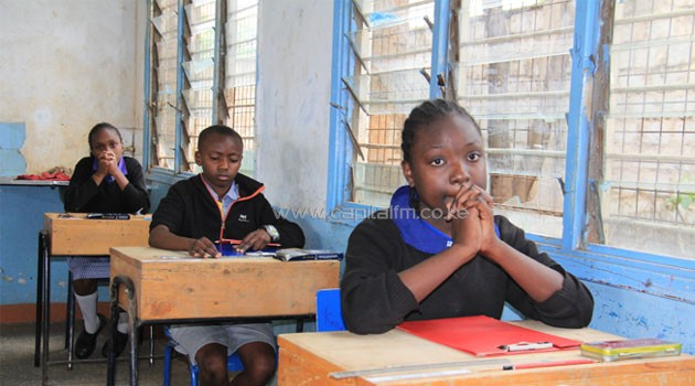 More than 800,000 pupils sat the KCPE in 2014. Photo/ FILE
