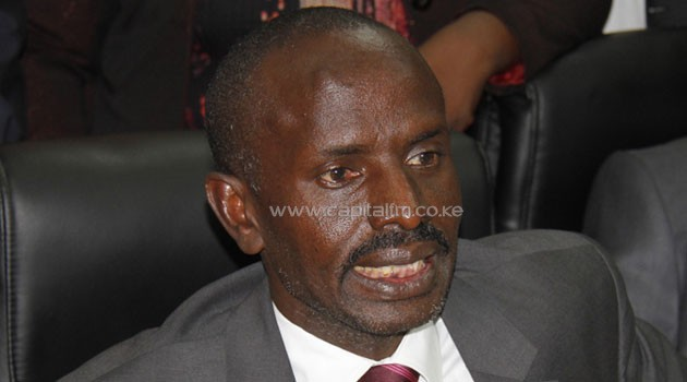 Wilson Sossion, KNUT Secretary General, has called for a teachers strike in early January. Photo/FILE