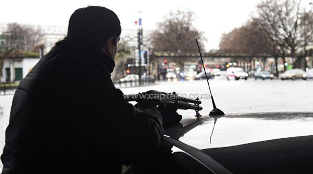 The hostage drama was underway at a business in Dammartin-en-Goele, to the north-east of Paris/AFP