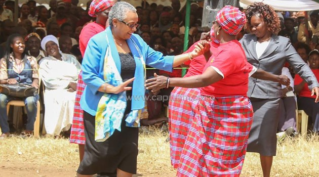 The First Lady said collective energies and resources should be harnessed to ensure accessible health care for all Kenyans, especially mothers and children/PSCU