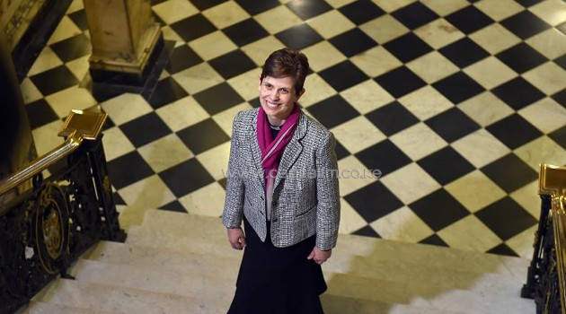 Reverend Libby Lane, the first woman bishop/AFP