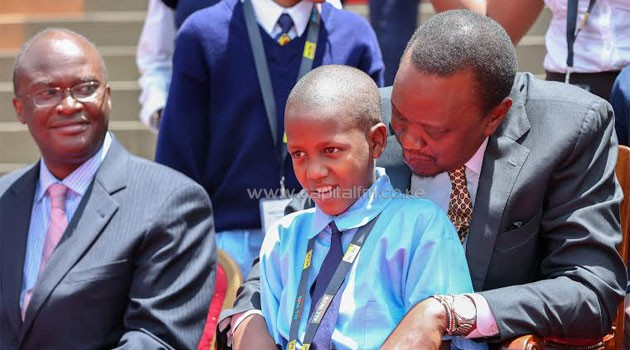 President Kenyatta gave the directive in response to a challenge thrown to him by an 11-year-old living with HIV/PSCU