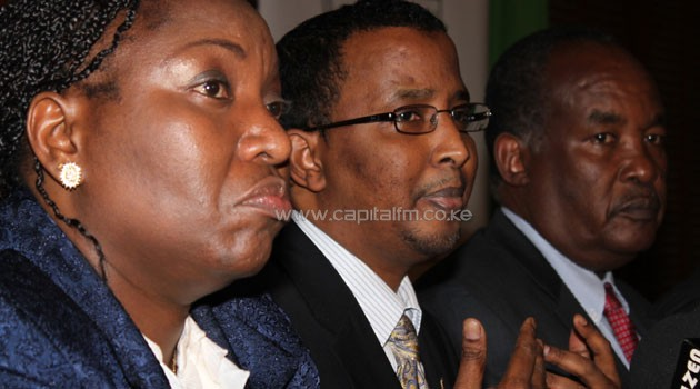 Hassan and other IEBC commissioners and officials are accused of having received bribes from two top executives of a UK printing firm Smith and Ouzman who were convicted last week. Photo/FILE.