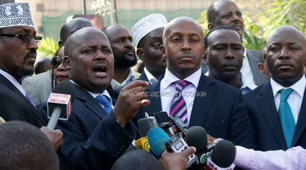 MPs led by committee Chairman Asman Kamama warned that if no information was made available, they would use the powers they wielded to initiate action on the security officers/FILE