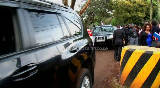 Visa applicants make their way to the Dutch Embassy in Nairobi/FILE