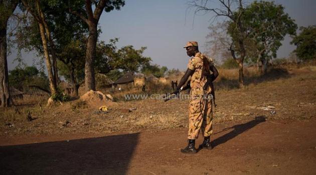 SOUTH-SUDAN-ARMYMAN