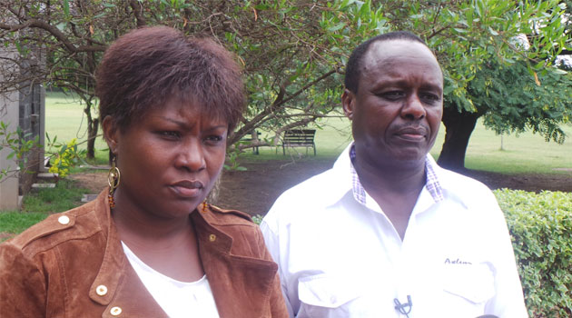 Runyenjes MP Cecily Mbarire seen in this file photo with Embu Senator Lenny Kivuti. Photo/ FILE