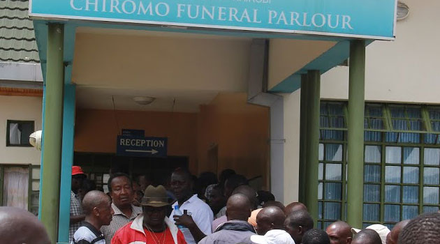 84 bodies remain unidentified at the Chiromo mortuary, with only 61 identified by relatives. Photo/CFM.