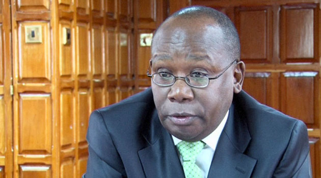 Muigai however noted that the discussions will be restricted on President Uhuru Kenyatta's directive that all the 10,000 recruits report to their respective training colleges.