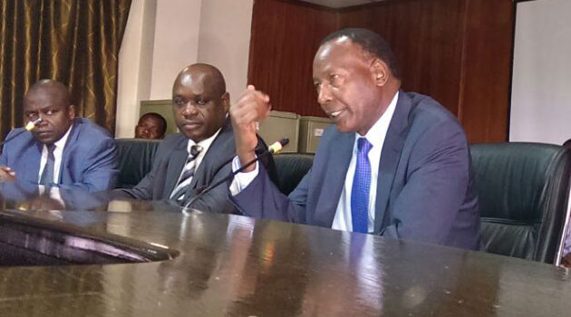 Nkaissery said the lapse by the officers caused him to interdict them pending investigation adding that if they were found guilty, criminal charges would be filed against them/CFM