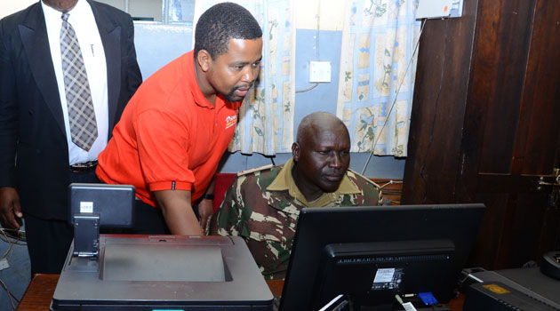 With free Internet connection, officers from the station will also be enable to access intelligence information and news online which will aid their duties of serving the people of Machakos County/COURTESY