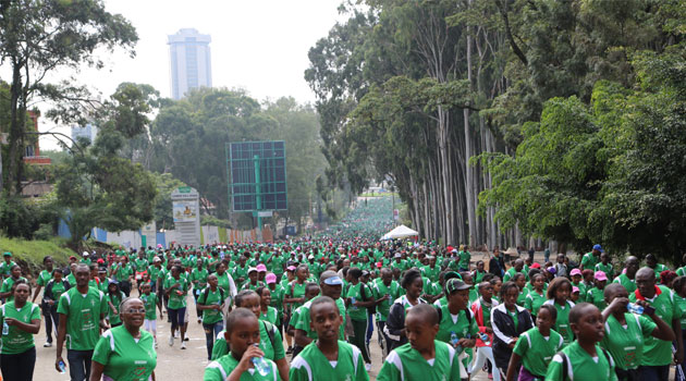 Mater Hospital CEO Agnes Chege said the eleventh edition of the Mater Heart Run is targeting to raise Sh110 million to perform 135 heart surgeries/KEVIN GITAU