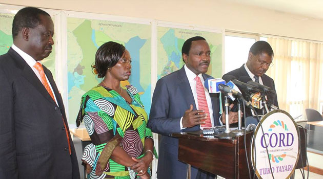 Wiper leader Kalonzo Musyoka said the Opposition will continue keeping the government accountable on corruption/CFM