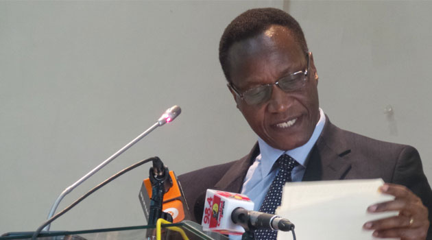 Education Cabinet Secretary Jacob Kaimenyi said it would be unfair for students there to take the exams as they are not adequately prepared and ranking them would be difficult/FILE