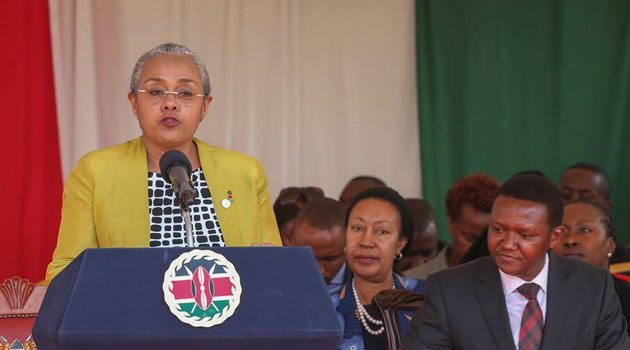 The First Lady said leaders have a responsibility to facilitate the youth to be productive members of the society and securing their future/PSCU