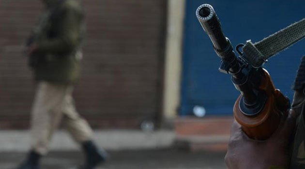 The officer attached to the Central Police Station was ambushed by gunmen while on patrol/FILE