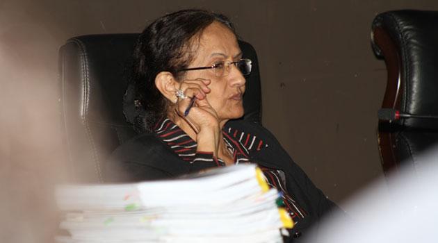 Deputy Chief Justice Kalpana Rawal. Photo/ FILE