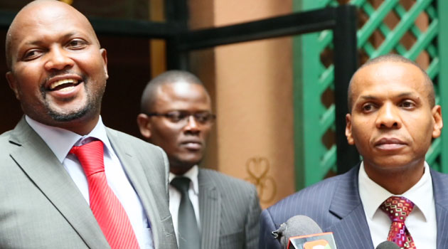 Kuria's lawyer Danson Mungatana explained they are seeking the orders after Mboya  in his testimony claimed he received phone calls from about four advocates complaining about comments he made on May 16, 2014 on his Facebook page/FILE