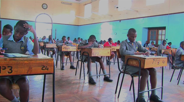 The number of students sitting for the examinations was also noted to have increased, with the number of girls who sat for the examination increasing from 437,228 in 2014 to 459,885 this year. Photo/FILE.