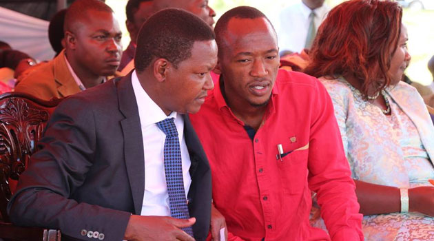 Mutua challenged the Opposition to focus on development issues instead of perennially engaging in populist politics/FILE
