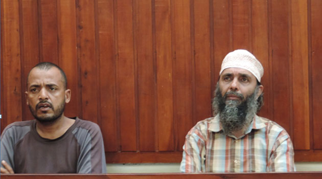 The accused Diana Salim Suleiman and Mahadi Suleiman Mahadi alias Jesus are alleged to have participated in the killing of 60 people on the night of June 15 and 16 in 2014 at Mpeketoni and Kaisairi Village within Lamu County/CFM