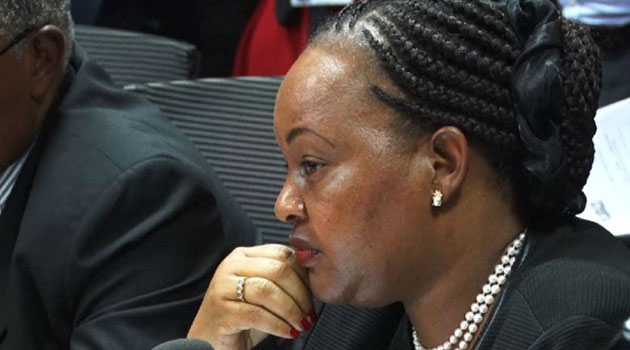 """Her prepared statement was simple: """"I had no idea what was going on at the Fund until two weeks before I stepped down and as you recall, I was already dealing with other issues at the time""""/KEVIN GITAU"""