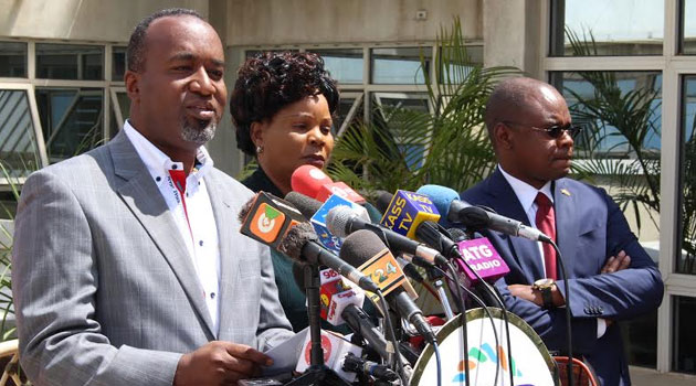 The Governor however says he does not know the reason why his two bodyguards and five Administration Police officers attached to his home were withdrawn/FILE
